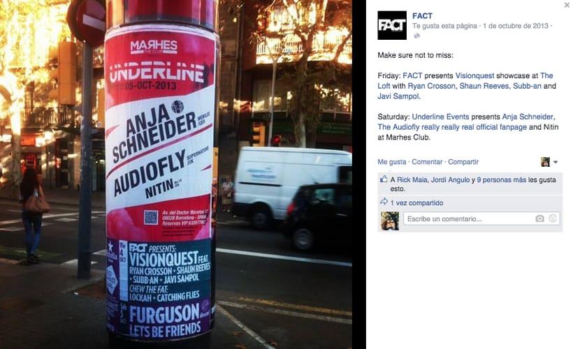 FACT WORLDWIDE - Gestión de sus páginas de Facebook: sorteos, posts, respuestas, campañas... 2