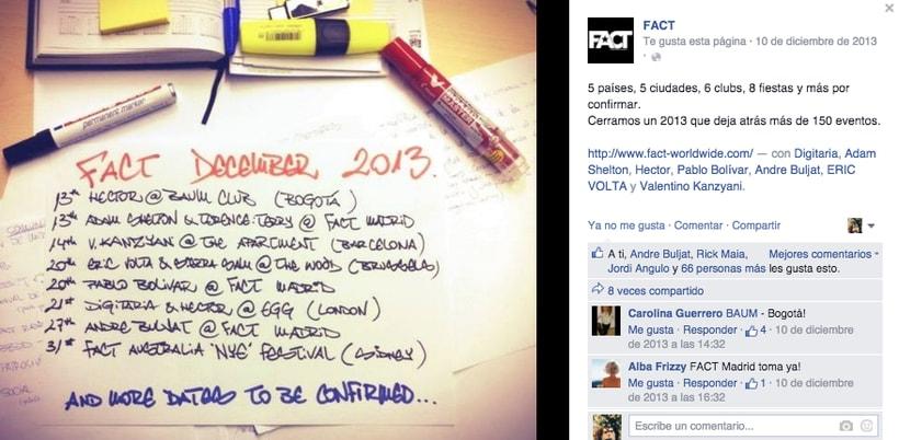 FACT WORLDWIDE - Gestión de sus páginas de Facebook: sorteos, posts, respuestas, campañas... 6