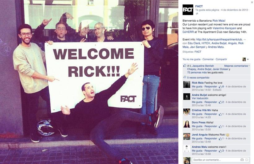 FACT WORLDWIDE - Gestión de sus páginas de Facebook: sorteos, posts, respuestas, campañas... 7