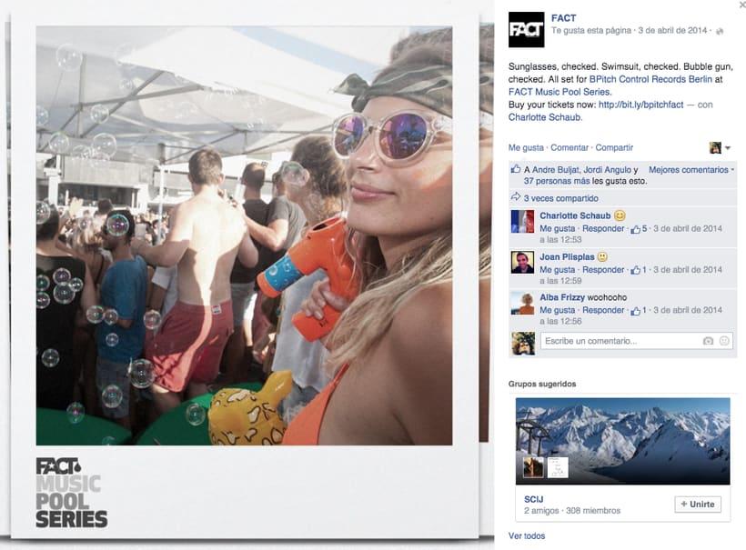 FACT WORLDWIDE - Gestión de sus páginas de Facebook: sorteos, posts, respuestas, campañas... 10