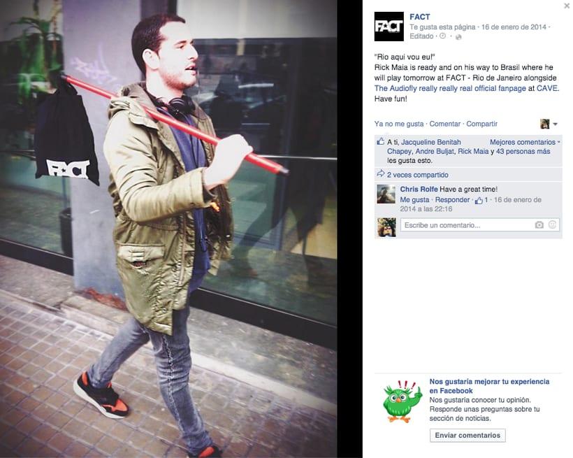 FACT WORLDWIDE - Gestión de sus páginas de Facebook: sorteos, posts, respuestas, campañas... 13