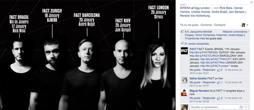 FACT WORLDWIDE - Gestión de sus páginas de Facebook: sorteos, posts, respuestas, campañas... 15