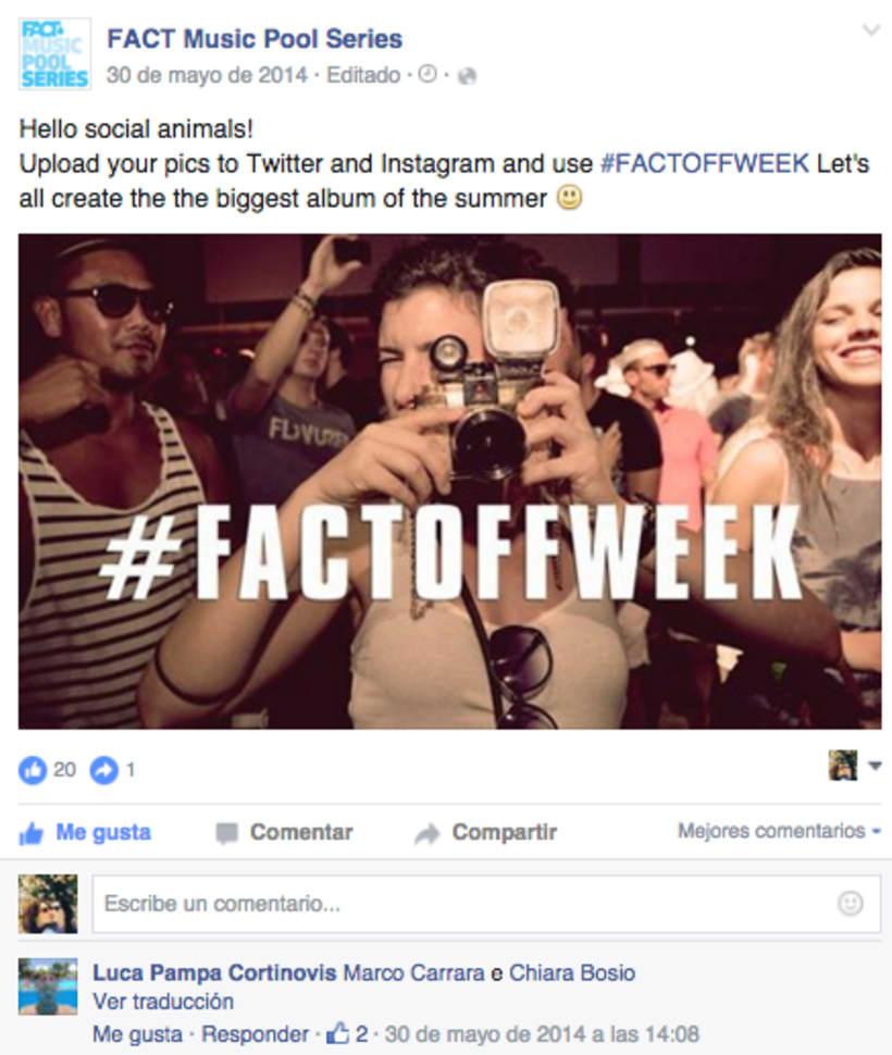 FACT WORLDWIDE - Gestión de sus páginas de Facebook: sorteos, posts, respuestas, campañas... 17