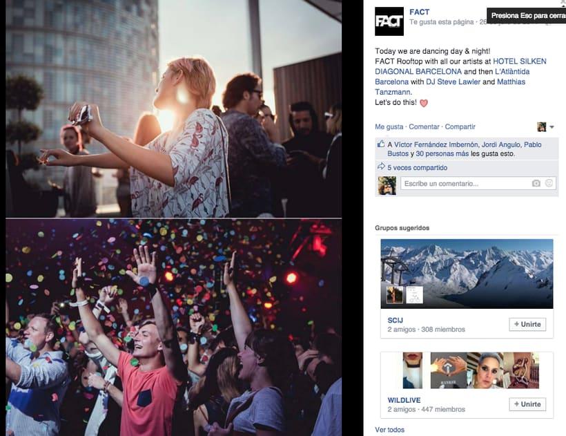 FACT WORLDWIDE - Gestión de sus páginas de Facebook: sorteos, posts, respuestas, campañas... 18