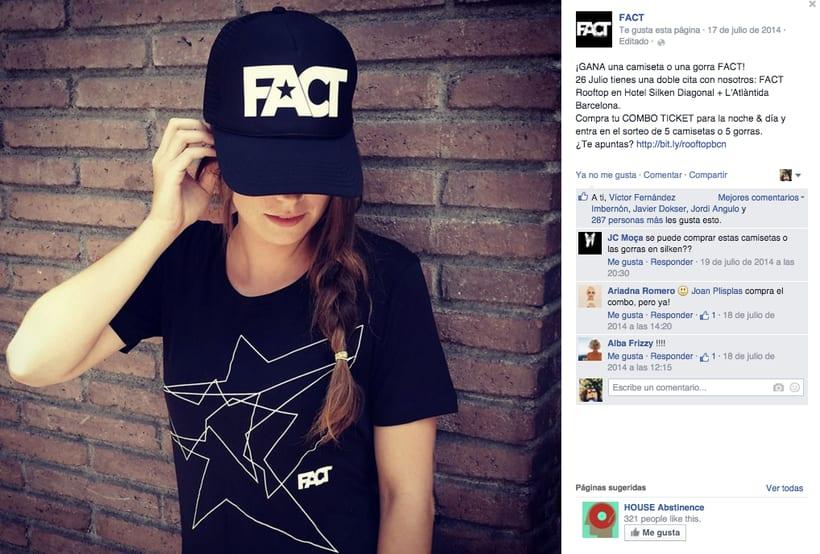 FACT WORLDWIDE - Gestión de sus páginas de Facebook: sorteos, posts, respuestas, campañas... 20