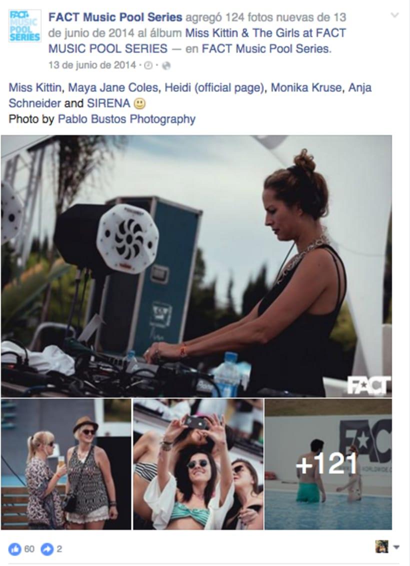 FACT WORLDWIDE - Gestión de sus páginas de Facebook: sorteos, posts, respuestas, campañas... 26
