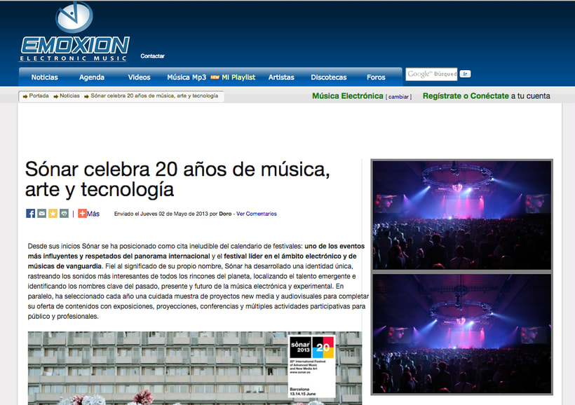 EMOXION: redactora jefa de la web de música electrónica 3