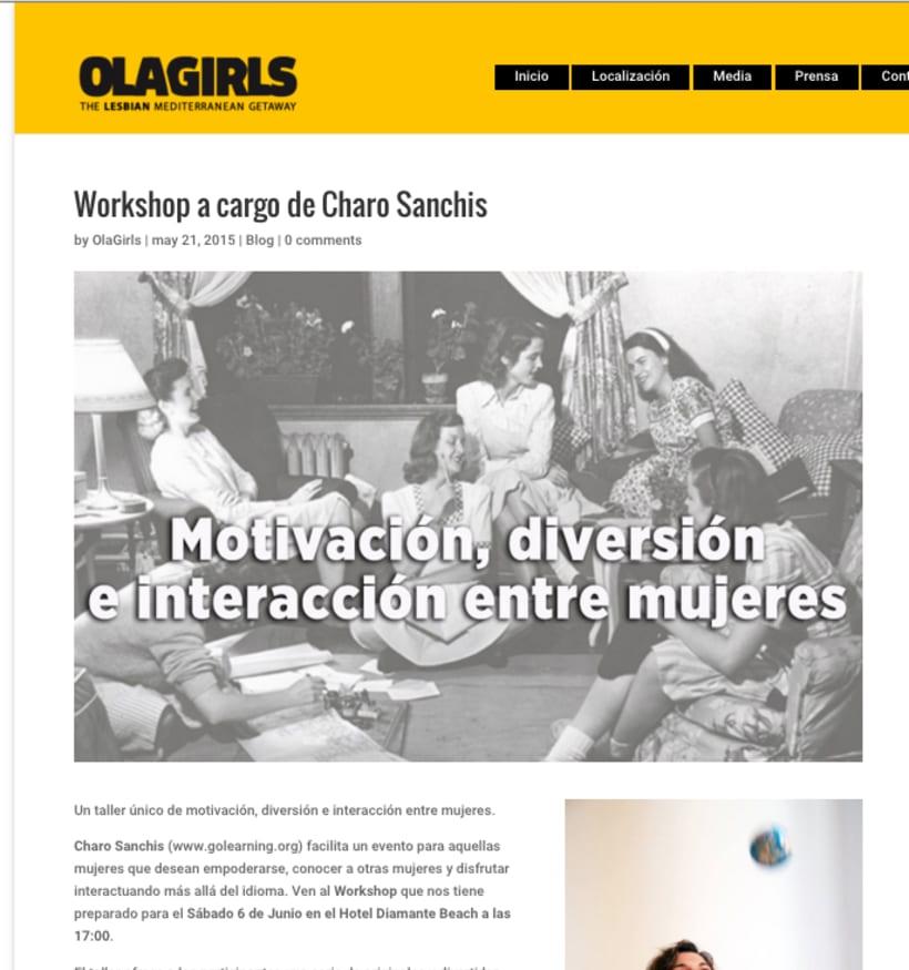 OlaGirls: comunicación, redes sociales y diseño 0