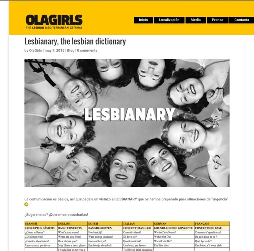 OlaGirls: comunicación, redes sociales y diseño 1