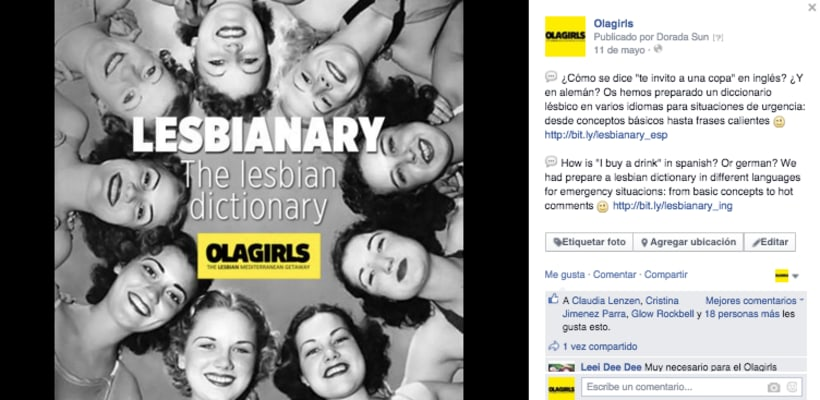 OlaGirls: comunicación, redes sociales y diseño 3