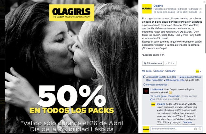 OlaGirls: comunicación, redes sociales y diseño 6