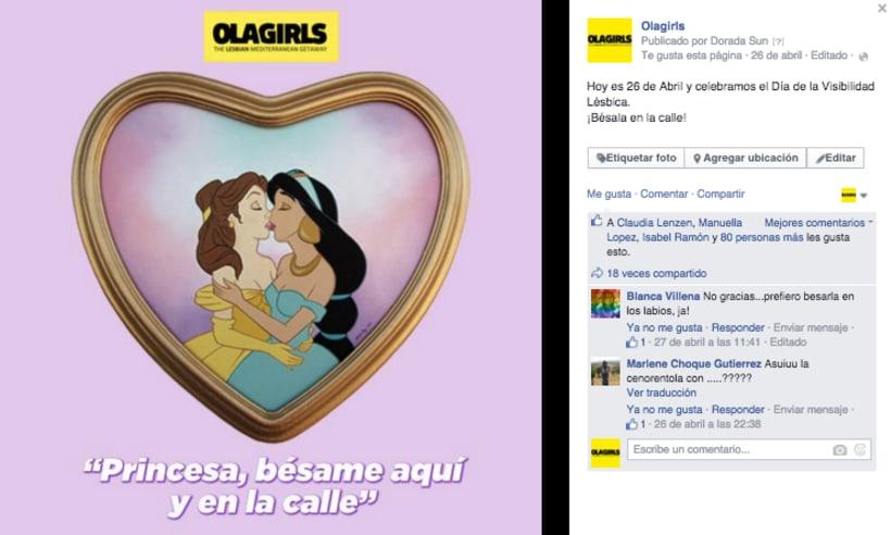 OlaGirls: comunicación, redes sociales y diseño 7