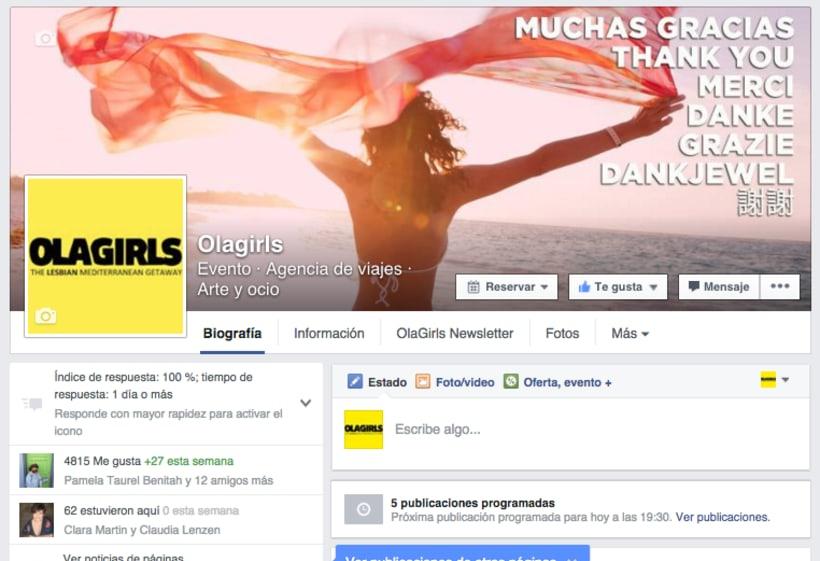 OlaGirls: comunicación, redes sociales y diseño 9