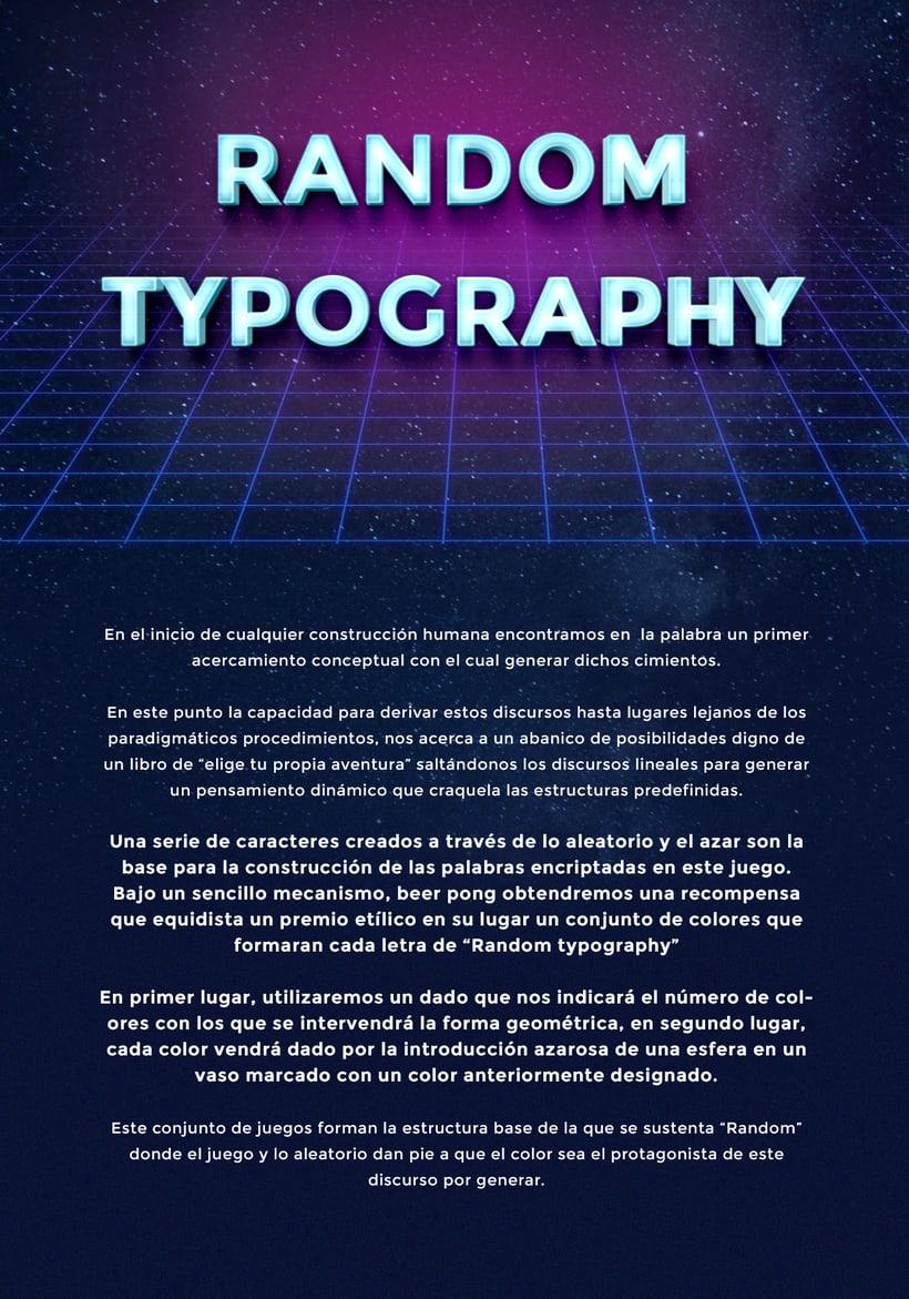 Random Typography 0