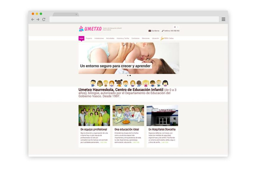 Web Umetxo Haurreskola 0