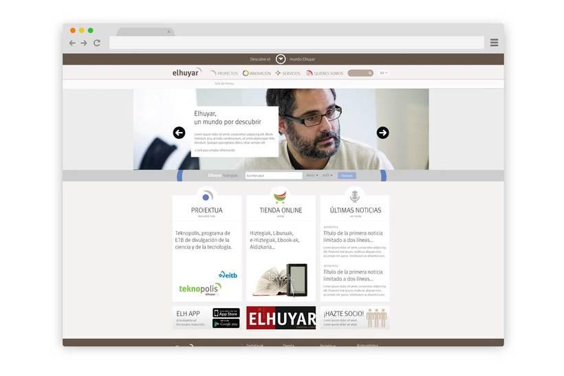 Web Fundación Elhuyar -1