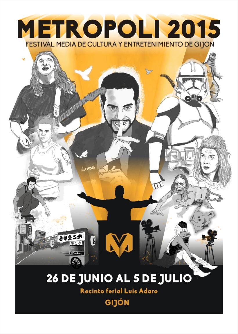 """PROPUESTA PARA """"METROPOLI 2015"""" (No seleccionada). -1"""