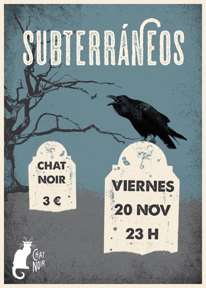 SUBTERRÁNEOS - CHAT NOIR 0