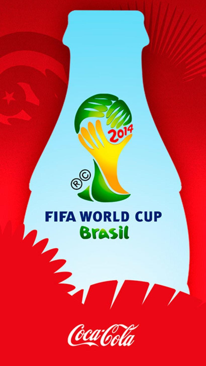 App Coca Cola Mundial 2