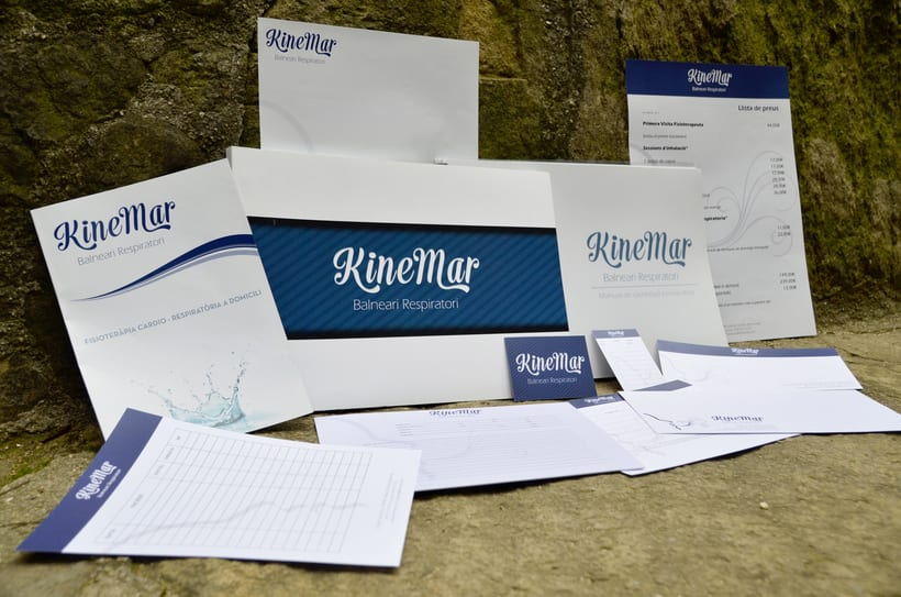 Branding: KineMar, Balneario Respiratorio -1