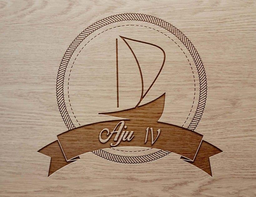 Sail boat Aju IV Logo -1
