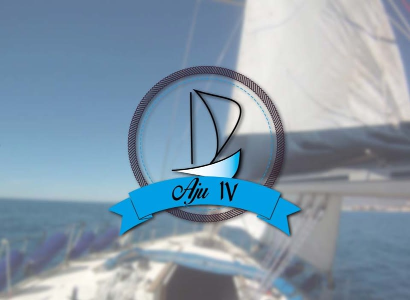 Sail boat Aju IV Logo 0