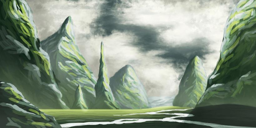 Mi primer Matte Painting! 0