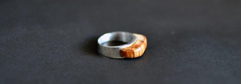 "Colección de anillos ""Hache "" 2"