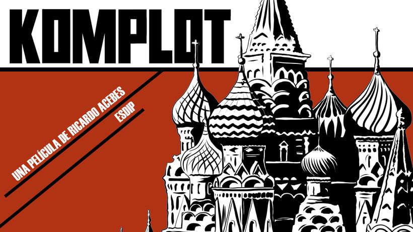 Komplot, una pieza de animación de Ricardo Acebes. 0