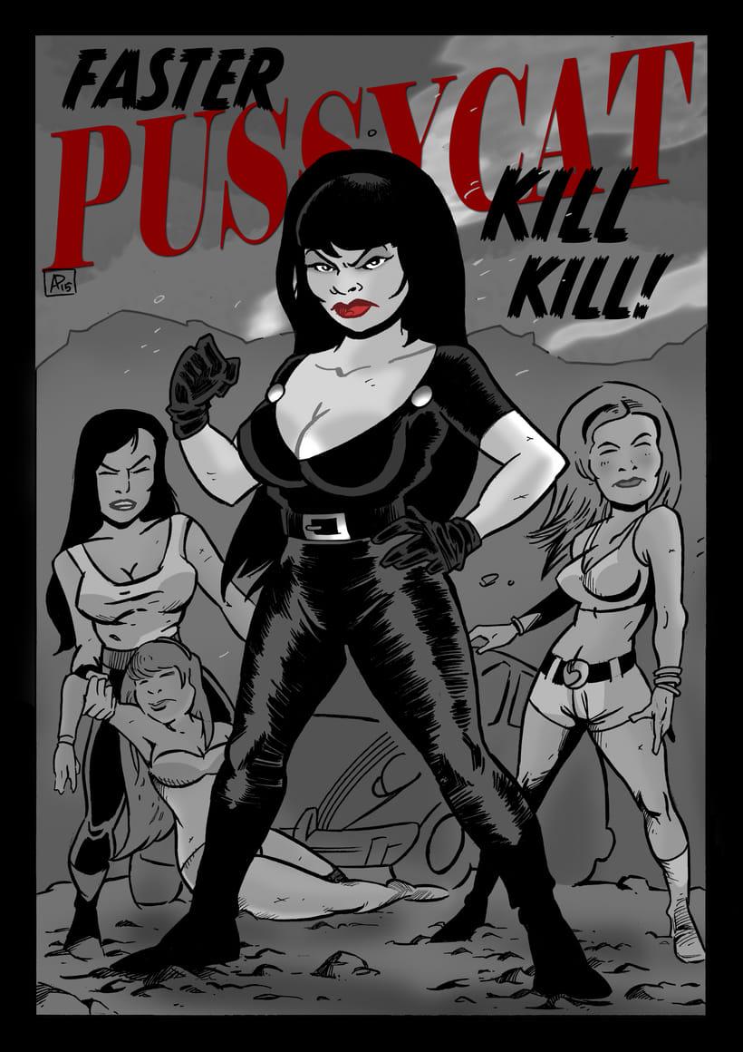 Ilustración de Faster Pussycat Kill Kill! -1