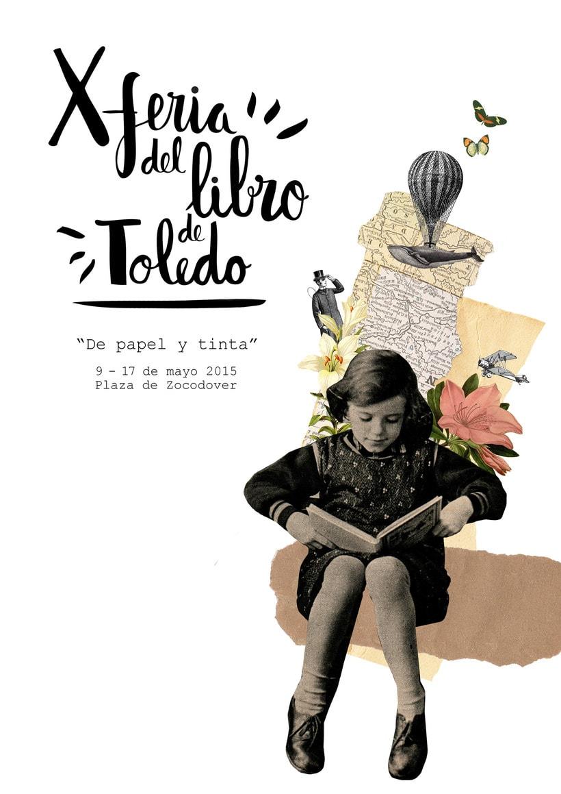 "Cartel ""X Feria del Libro de Toledo"" 1"