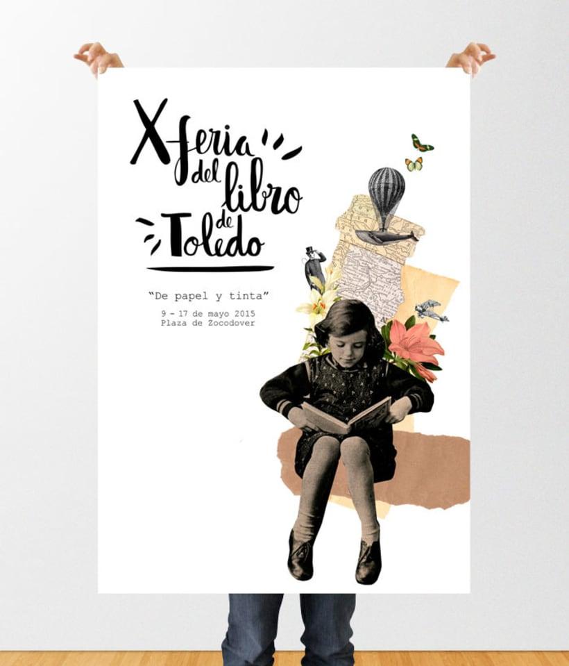 "Cartel ""X Feria del Libro de Toledo"" 2"