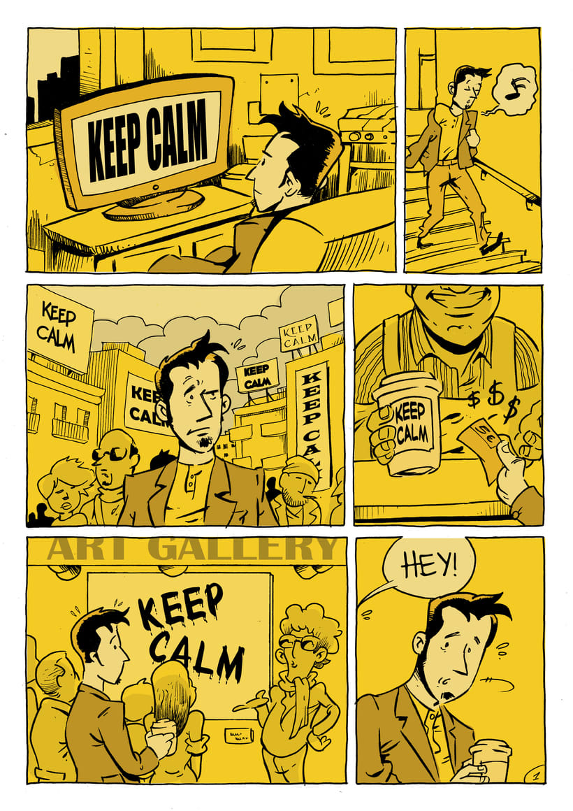 Keep calm (cómic de 2 páginas) -1