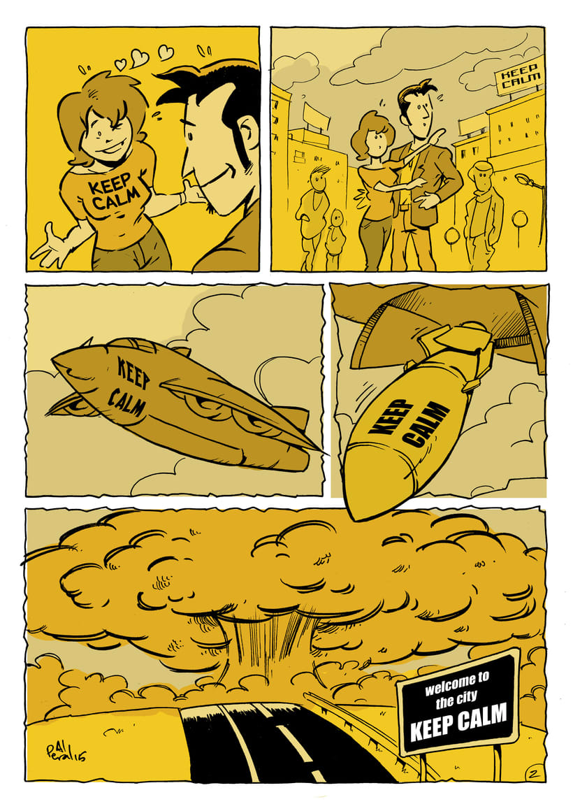 Keep calm (cómic de 2 páginas) -1
