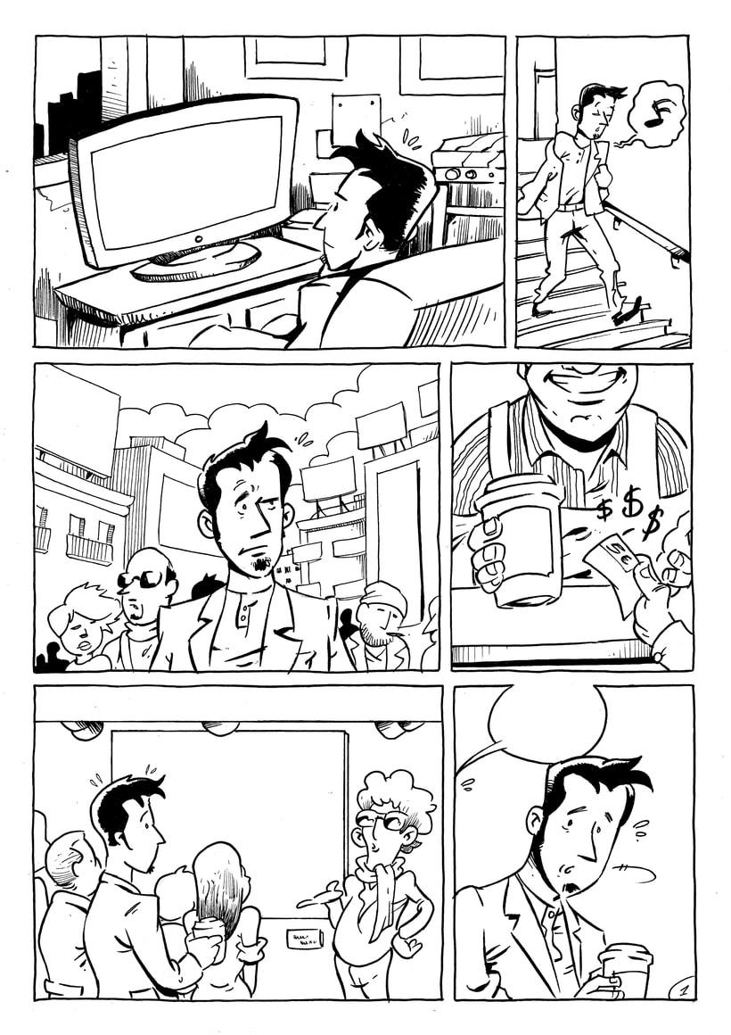 Keep calm (cómic de 2 páginas) 0