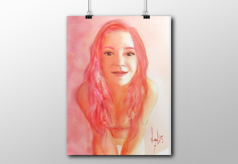 Personalized Portraits. Digital & Vectorial Illustration 1