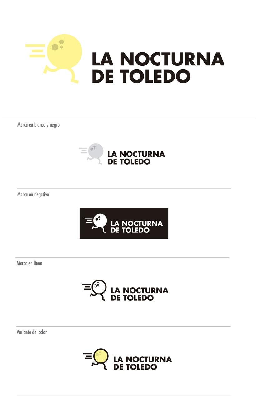 La Nocturna de Toledo - Identidad Corporativa 1