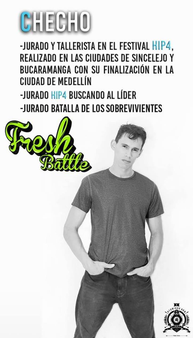 Jurado y Tallerista Fresh Battle Bucaramanga  3