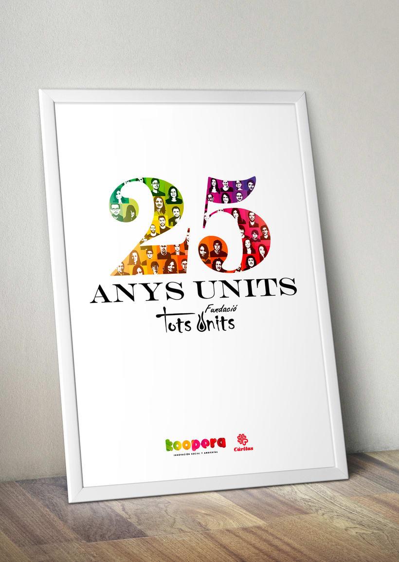 Propuesta 25º Aniversario Tots Units 1