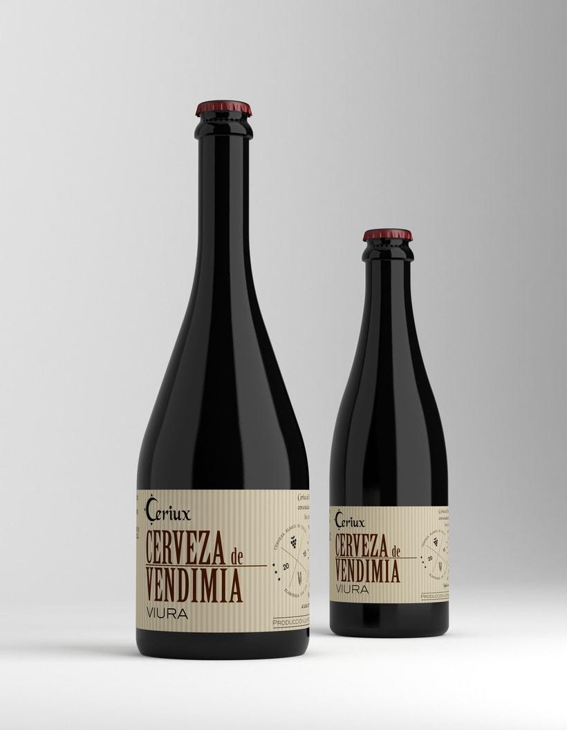 Cerveza de Vendimia Ceriux 0
