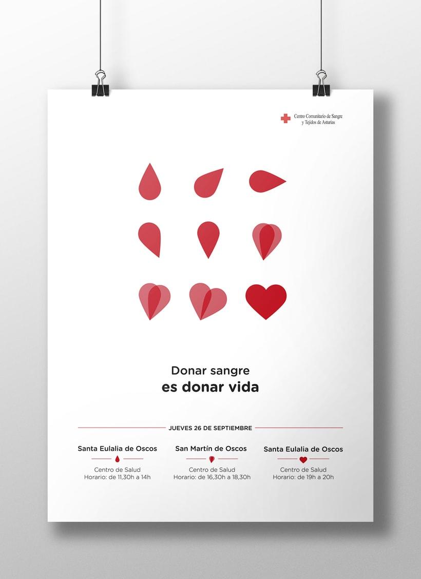 Donar sangre es donar vida 1