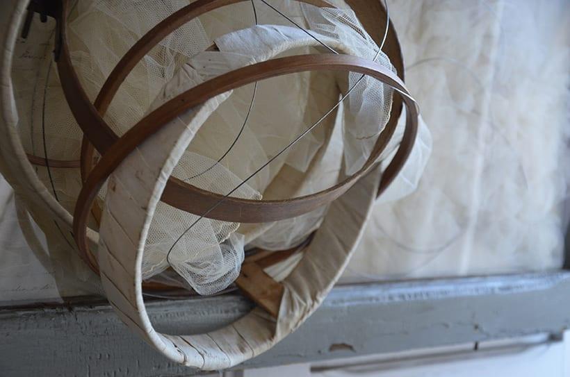 """""""Aliento de significado """". Montaje Escultura Collage Arte. Poesía visual. Material antigüo. Técnica Upcycling. 3"""