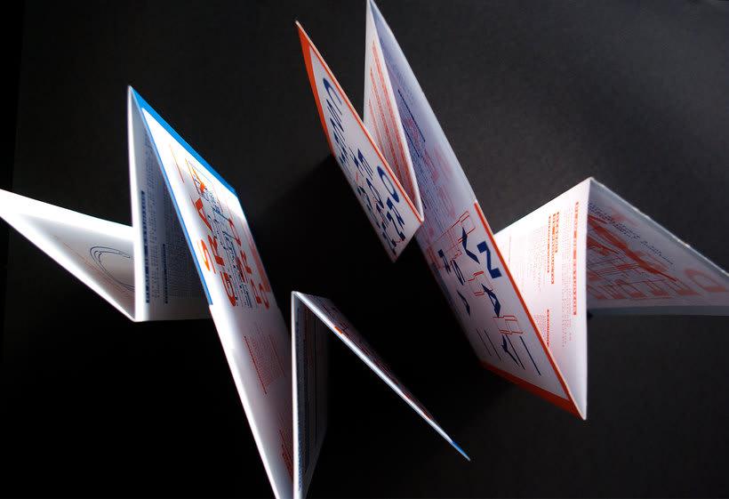 Diseño conjunto con Javi Nistal de folletos para la Escuela Superior de Arte del Principado de Asturias -1