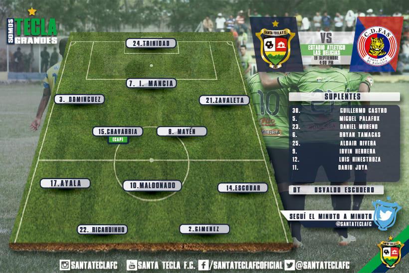 Santa Tecla Fútbol Club - Apertura 2015 3