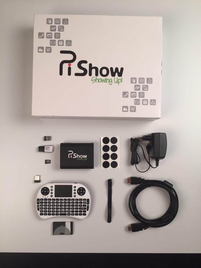 PiShow Ultra Low Cost Digital Signage - Tu sistema de publi digital sencilla, fiable, centralizada y económica 4