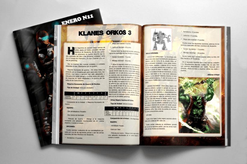 """Ilustración para artículo de la revista """"Goblin Panzudo 11"""" 2"""