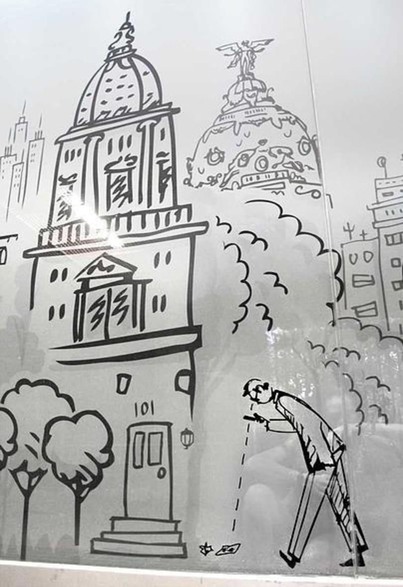Decoración Mural Escape Room Madrid 2