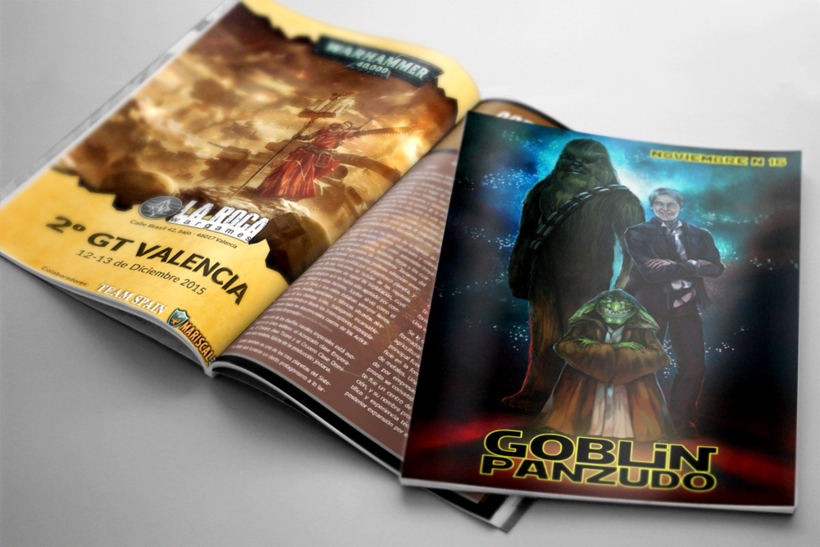 "Portada para la revista ""Goblin Panzudo16"" 2"