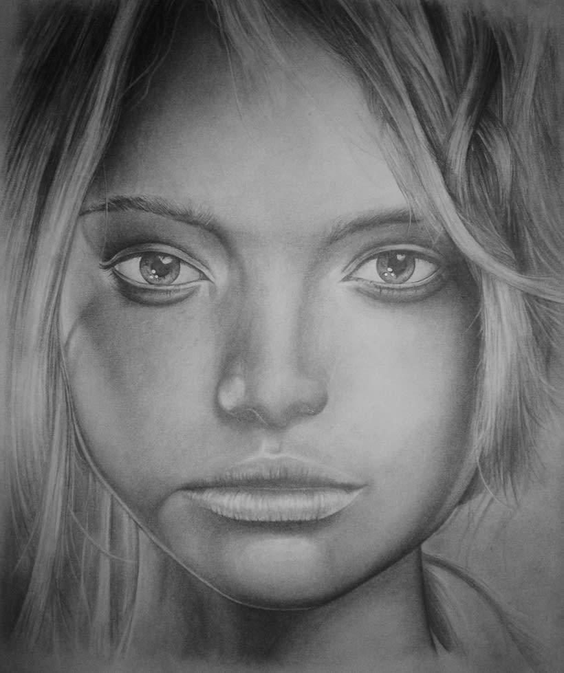 Retrato a grafito -1