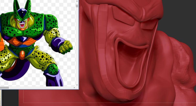Cell con Zbrush 1